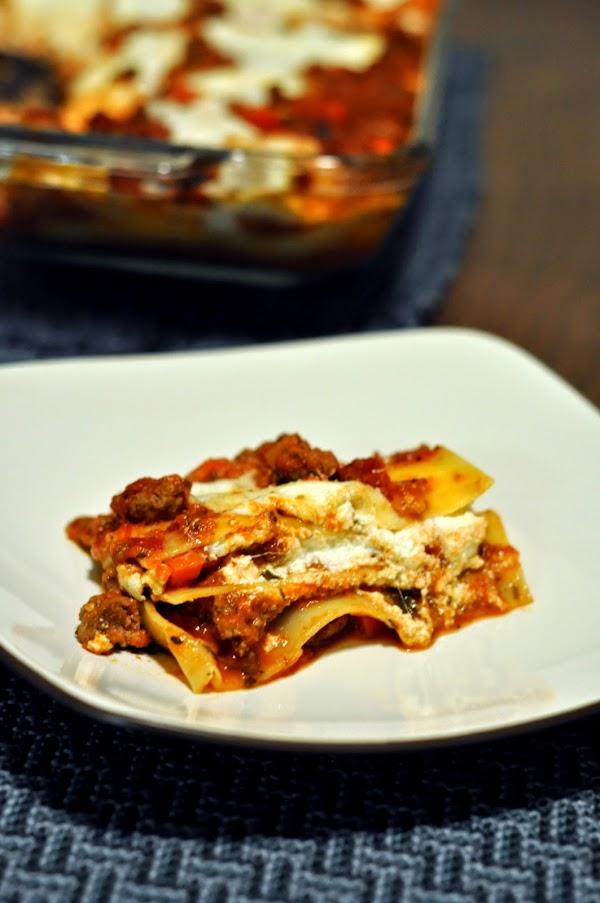 Simple Meat Lasagna