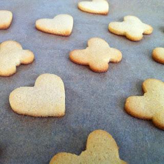 Coconut Cutout Cookies
