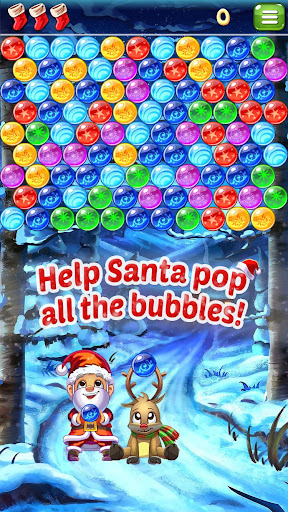 Santa Pop - Bubble Shooter