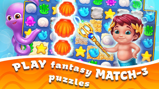 Seascapes : Trito's Match 3 Adventure 2.6 screenshots 11