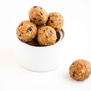Peanut Butter Choc Chip Energy Balls.