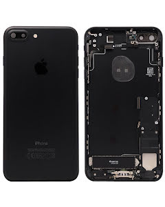 iPhone 7 Plus Housing with small parts Original Pulled Black