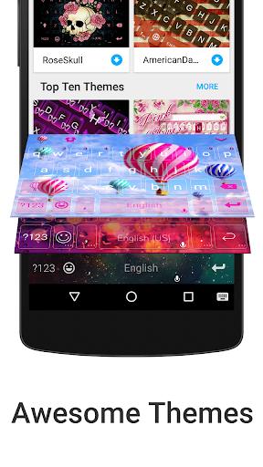 iKeyboard - emoji, emoticons screenshot 3