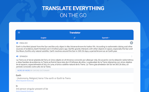 Оxford Dictionary with Translator Screenshot