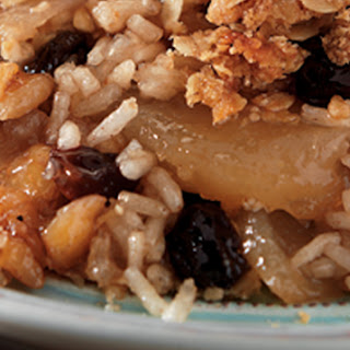 Apple Cinnamon Rice Crisp.