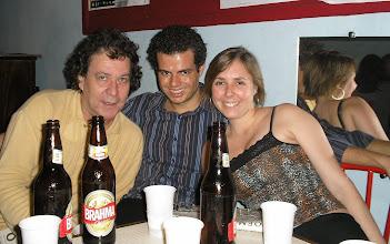 Photo: Tavinho Paes, Geraldo Neto e yo