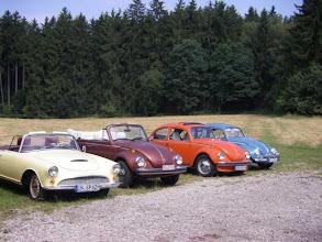 Photo: Jede Menge VW Käfer und Luftgekühlte fanden Heute den Weg ins Högnerhäusl -- www.kaeferfreunde.hux.de -- www.bayernfranz.de --