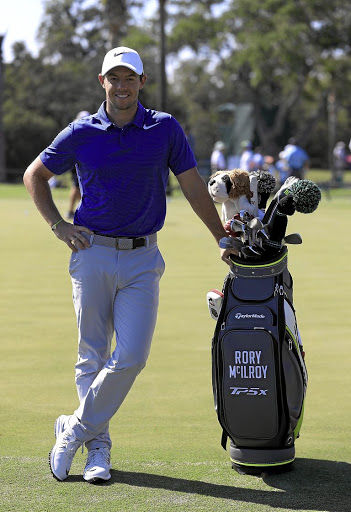 Mucho mojo: Rory McIlroy says getting married recently is likely to boost his game. Picture: GETTY IMAGES