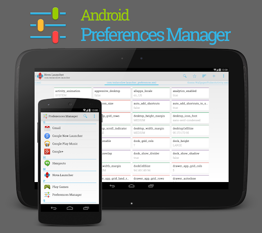 Preferences Manager - Android Apps on Google Play