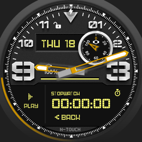 N-touch Watch Face- screenshot