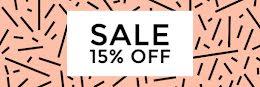 15% Off Sale - Email Header item