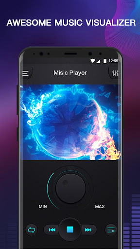 Free Music - MP3 Player, Equalizer & Bass Booster 1.1 screenshots 1