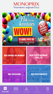 myMonoprix- screenshot thumbnail