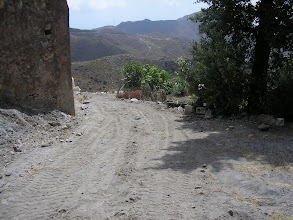 Photo: Inicio del camino desde la fuente a Los Moralicos.
