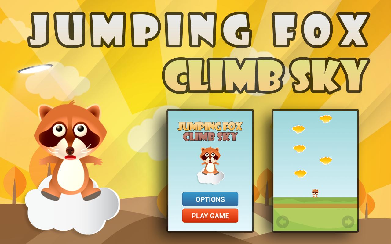 الاصدار الجديد من لعبة Jumping Fox