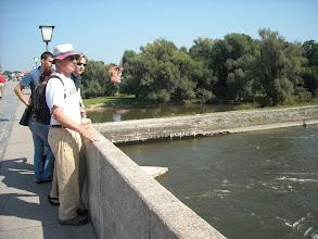 Photo: Danube (Donau) from the bridge