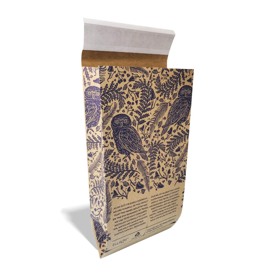 Custom product packaging that's affordable and attractive like this mailer