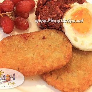 Hash Browns Recipe Pinoy Style.