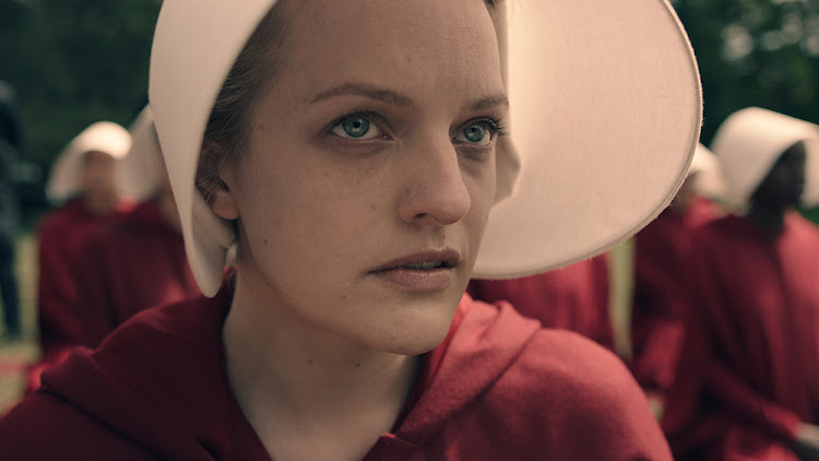 Elisabeth Moss in The Handmaid's Tale. Picture: MGM