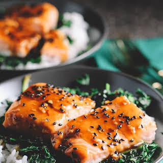 Salmon Spinach Rice Recipes.