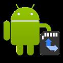 Move app to SD card icon