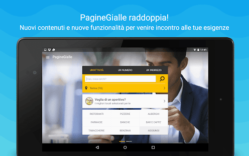 PagineGialle- miniatura screenshot