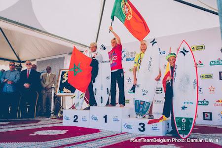Bronze medal at Eurojunior In Marokko
