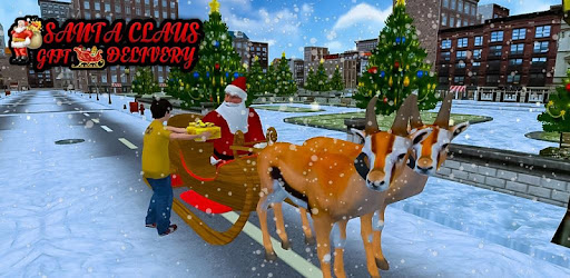 Is It Going To Snow On Christmas 2019 Christmas Santa Rush Delivery  Gift Games 2019   Apps on Google