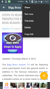 Bigg Boss 10 Updates- screenshot thumbnail
