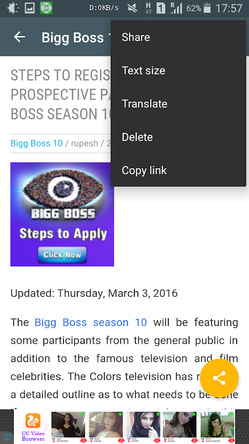 Bigg Boss 10 Updates- screenshot