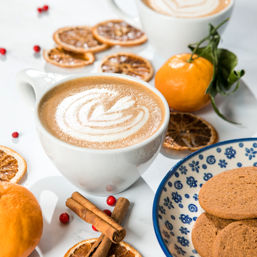 Spiced Cookie Latte