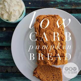 Low Carb Pumpkin Bread.