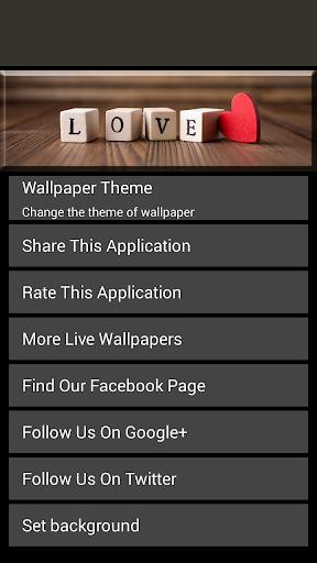 無料个人化Appの女の子のための壁紙を愛して 記事Game