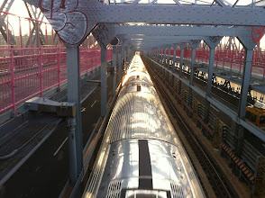 Photo: Above the Train