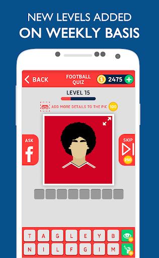 FootQuiz - Football Quiz Game Screenshot