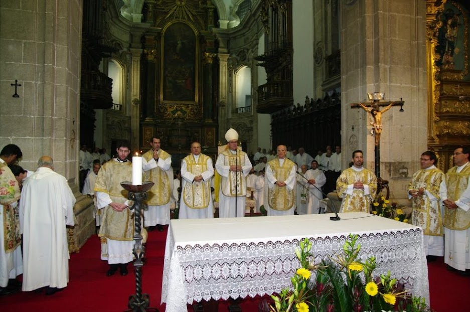 Lamego: Bispo diocesano ordenou três diáconos
