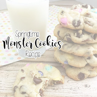 Springtime Monster Cookies