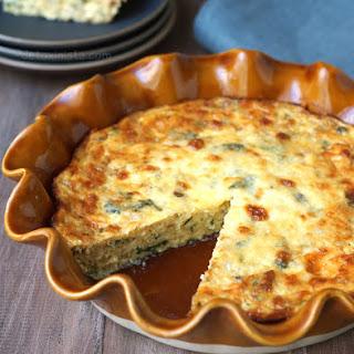 Gluten-Free Crustless Quiche.