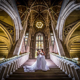 Two lovely Brides by Peter Anslow - Wedding Bride ( wedding photography, wedding gown, wedding day, wedding, wedding dress, bride )