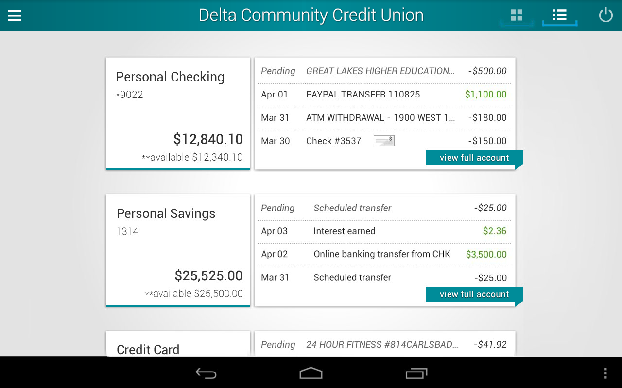 Delta Community Credit Union Android Apps On Google Play