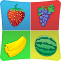 Fruits Match Memory Games Kids icon