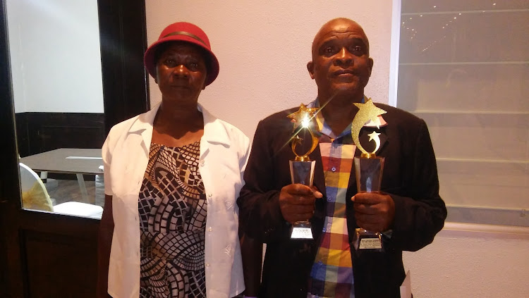 Lindiwe and Rodgers Mngomezulu of Bushbuckridge, Mpumalanga. Rodgers, a mechanic at the Mpumalanga department of agriculture and rural development, was crowned the best public servant in the country in the fifth edition of the Batho Pele Awards.