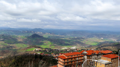 Photo: View from Monte Titano