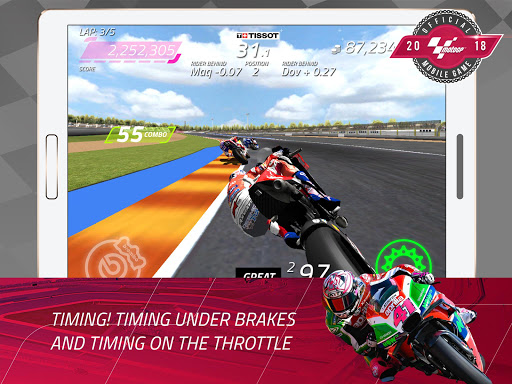 MotoGP Racing '18 APK MOD screenshots 2