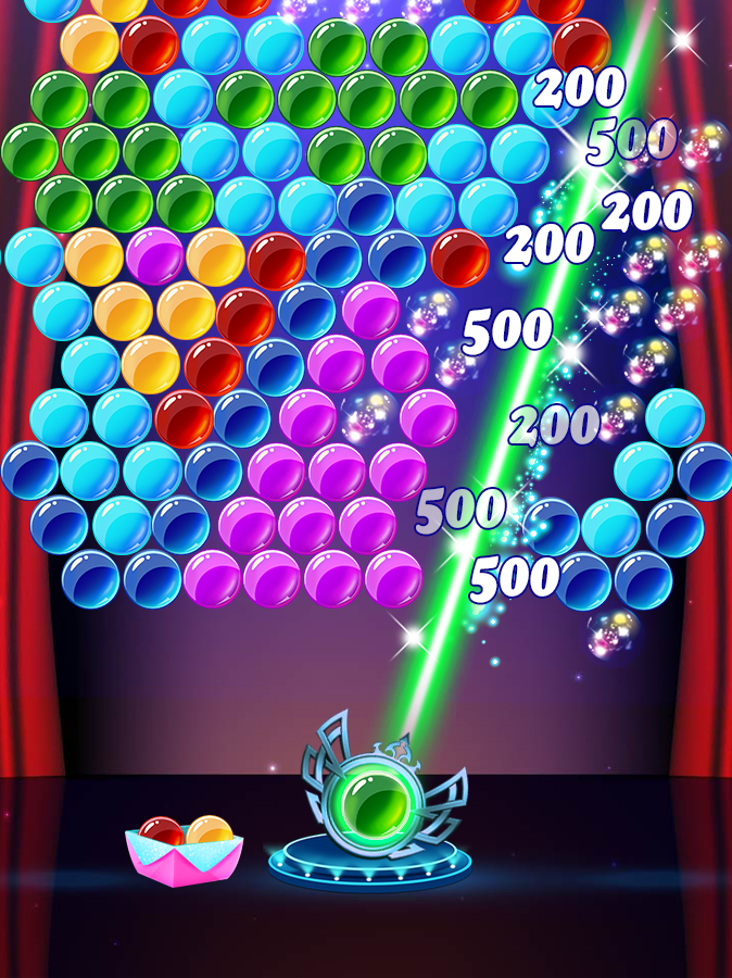 Gymnastics Star Bubble- screenshot