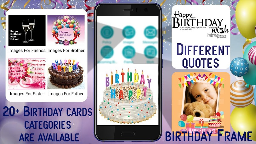 Download Happy Birthday Photo Frame Happy Birthday Images Apk