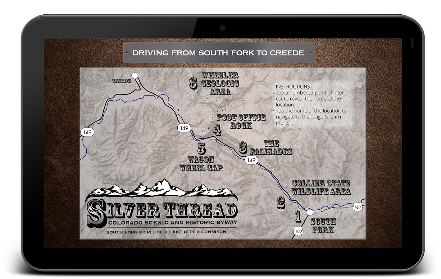 Silver Thread Scenic Byway- screenshot