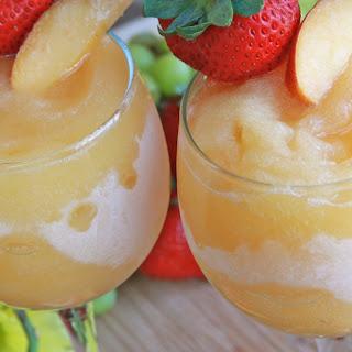 Moscato Peach Wine Slushies.