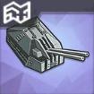 100mm二連装九八式高角砲T2