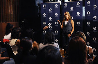 Photo: 10 Oct 2008, Los Angeles, California, USA --- Recording artist Sheryl Crow with 25 students from The Long Beach Community Action Partnership at GRAMMY Foundation's GRAMMY SoundChecks program prior to her benefit concert at The Wiltern Theater, in Los Angeles. --- Image by © Katy Winn/Corbis